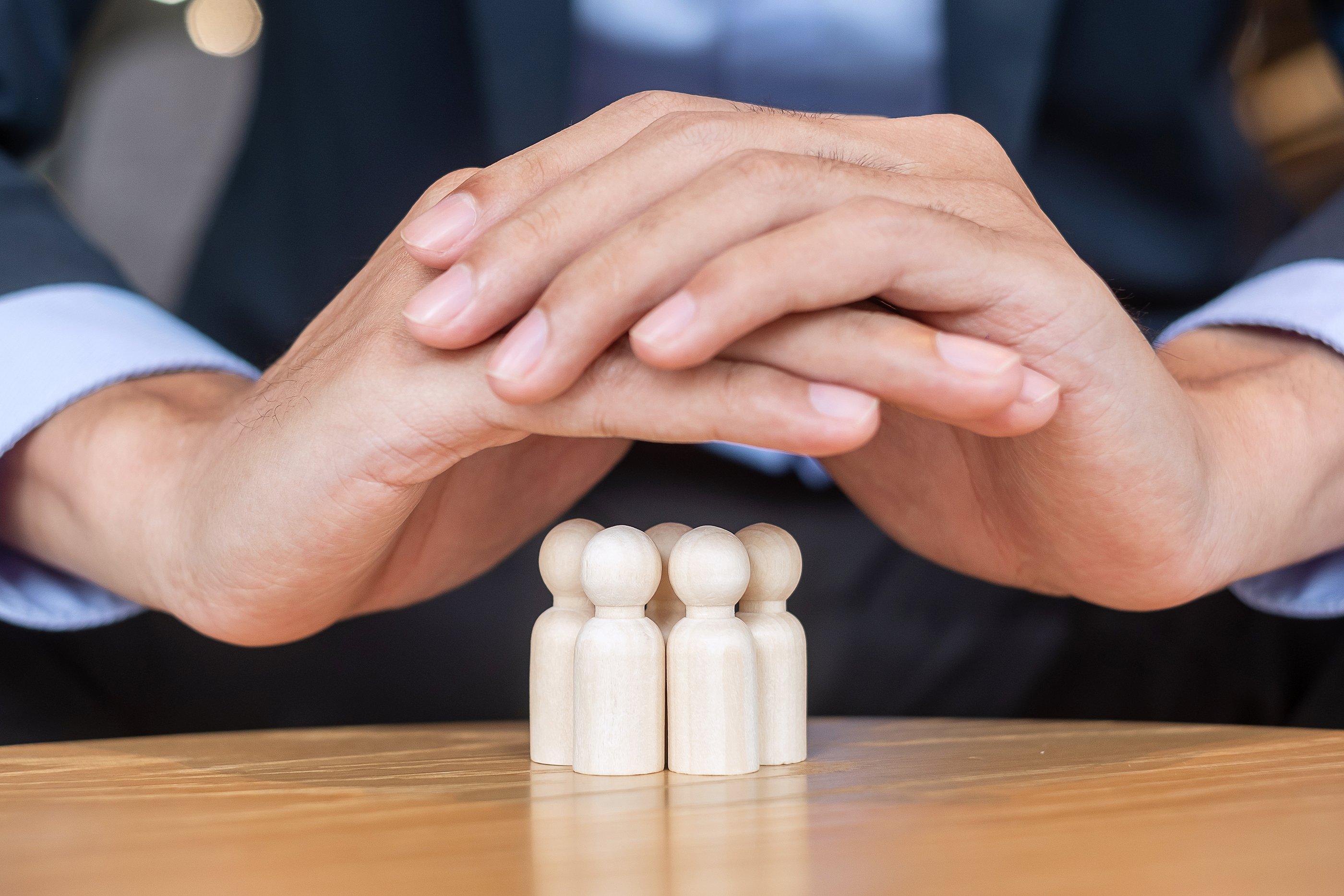 bigstock-Businessman-Hand-Cover-Man-Woo-417025549